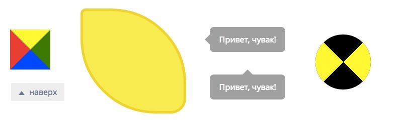 Трюки со свойствами CSS border и border-radius